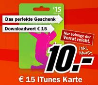 iTunes Gutscheinkarte