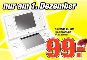 Nintendo DS lite Pro Markt