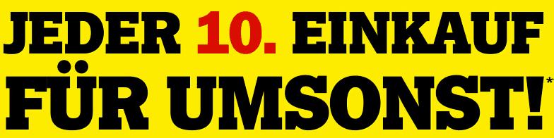 Media Markt Agenda 2010: jeder 10. Einkauf kostenlos - Eine Nahaufnahme von einem Schild - Logo