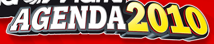 Media Markt Agenda 2010: nun Gutscheinkarten - Eine Zeichnung auf einem weißen Hintergrund - Logo