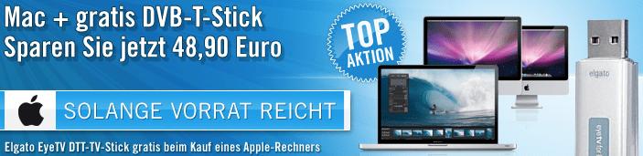 Gratis DVB-T-Stick zum Apple Rechner - Ein Screenshot eines Computers - Apple MacBook Pro