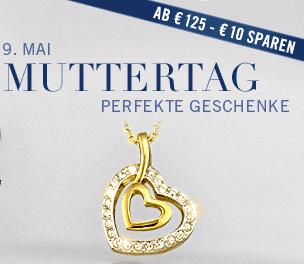 Swarovski: 10 EUR Muttertags-Gutschein - Eine Nahaufnahme von einem Schild - die Kappe