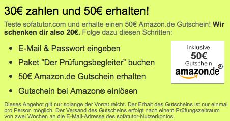 20 Euro Amazon Gutschein geschenkt - Ein Screenshot eines Handys - Winkel