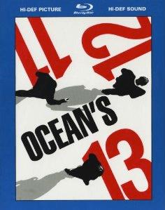 Ocean's Trilogie [Blu-ray] für 25,97 Euro incl. Versand - Eine Nahaufnahme von einem Schild - Ozean