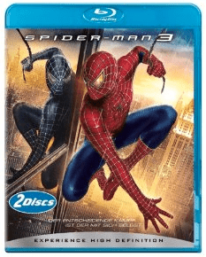 Spider-Man 3 (2 Discs) [Blu-ray]: nur 7,95 Euro - Blu-Ray Disc