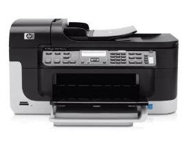 Drucker HP Officejet 6500 Wireless für günstige ca. 131 Euro - Eine Nahaufnahme von einem Drucker - HP Officejet 6500