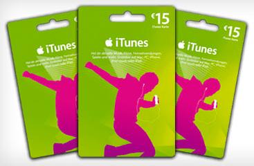 iTunes Gutschein: 15 Euro für 10 Euro - Ein Screenshot eines Computers - Geschenkkarte