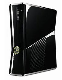 Günstige Xbox 360 Slim 250 GB inkl. Fifa 2011 - Eine Nahaufnahme von einem Computer - Microsoft Xbox 360