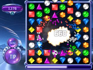 Bejeweled 2 Gratis-Download - Eine Gruppe von bunten Blöcken - Bejeweled 2