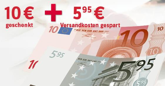 Baur: 10 EUR-Gutschein + kostenloser Versand - Ein Stück Papier - Kasse