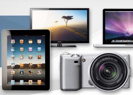 Cyberport + PayPal = bis zu 50 Euro Rabatt - Eine Nahaufnahme von Elektronik - iPad 1