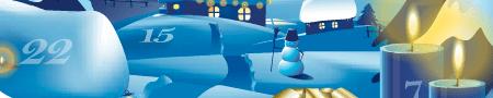 Die Internet Adventskalender 2010 im Überblick - Eine Nahaufnahme von einem Boot - Bildschirmhintergrund