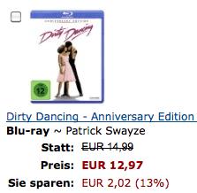 Amazon: 4 Blu-rays kaufen, nur 3 bezahlen – portofrei - Ein Screenshot eines Handys - Papier