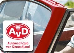 1 Jahr gratis AvD Mitglied werden – automatisch auslaufend - Ein Seitenansichtspiegel eines Autos - Auto
