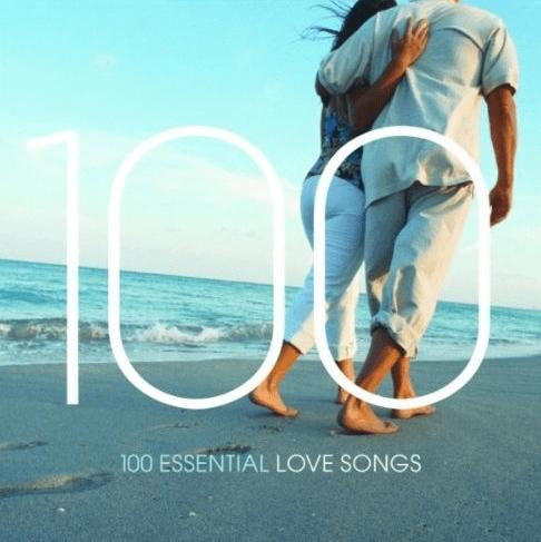 100 Love Songs (MP3) für 4,98€ - Ein Mann, der im Wasser steht - 100 essentielle Liebeslieder