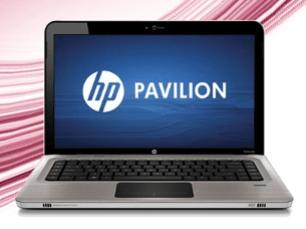 HP Notebook Schnäppchen bei Allmaxx - Ein Laptop sitzt auf einem Tisch - Generalüberholtes HP XG871UA # ABA Dv6 3120us Turion P540 156