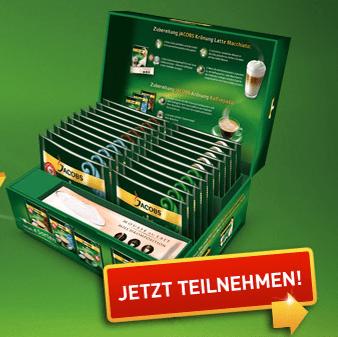 JACOBS Krönung Kaffeepads Eintauschaktion – Probierbox kostenlos - Eine Leiterplatte - Eristoff