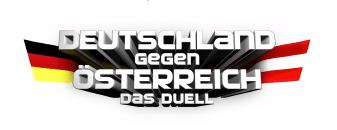 Freikarten für TV-Event: Deutschland gegen Österreich - Eine Zeichnung eines Gesichts - Logo