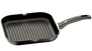 WMF Grillpfanne 27cm für 29,98 statt 69 € - Eine schwarze Pfanne - WMF Keramik Antihaft-Grillpfanne 11