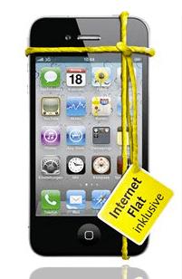 iPhone 4 16 GB bei Base jetzt für 35 €/Monat - Eine Nahaufnahme von Elektronik - iPhone 4s