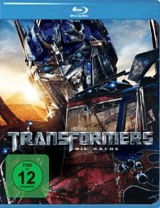 Transformers – Die Rache [Blu-ray] Oster-Angebot: 9,97 € - Eine Nahaufnahme von einem Schild - Blu-Ray Disc