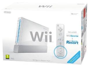Nintendo Wii (weiß) + Wii Sports für ca. 120 € bei Amazon UK - Wii U