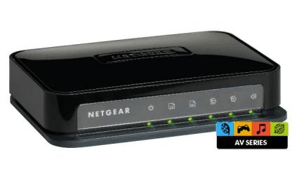 Günstig: Netgear GS605AV 5x Gigabit Switch für 17 € - Eine Nahaufnahme von Elektronik - WLAN router