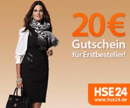 HSE24 Gutscheincode: 20 € Rabatt im September - Eine Person mit einem Schild - Mode