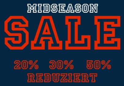 Tom Tailor Midseason Sale: bis -50% Rabatt - Eine Nahaufnahme von einem Schild - Logo