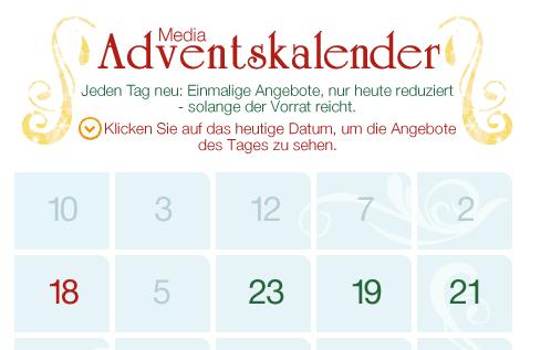 Der Amazon Adventskalender am 18. Dezember - Eine Nahaufnahme von einer Tastatur - Logo