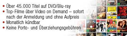 Lovefilm testen: 1 Monat gratis + 15 € Amazon Gutschein bei Abo - Ein Screenshot eines Handys - Werbung anzeigen
