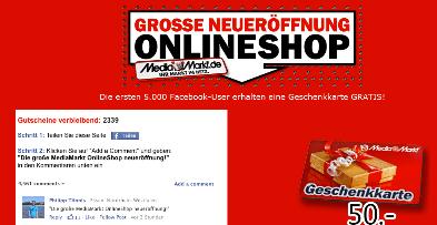 mm-gutscheine.info: Media Markt Gutscheine (nicht) zu verschenken - Ein Screenshot eines Handys - Onlinewerbung
