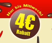 Lieferando 4 € Gutschein