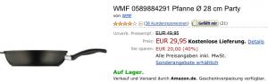WMF Pfannentausch bei Amazon: 10 € Rabatt - Ein Screenshot eines Handys - LG Electronics LG XXLD450 Schwarz