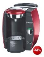 Tassimo T42 Kaffee-Maschine + 2 Packungen Latte macchiato für effektiv: 29 € - Eine Nahaufnahme eines Geräts - TASSIMO