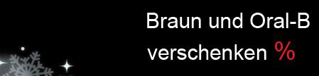 10% Weihnachtsrabatt von Braun bei Amazon - Schwarz & Weiß - M