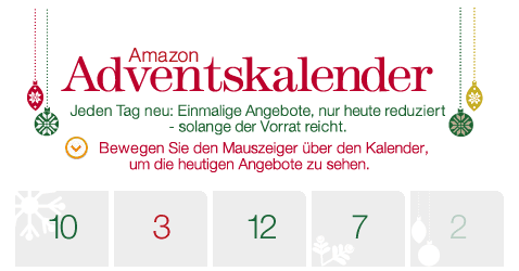 Die Online Adventskalender 2012 - Ein Screenshot eines Handys - Logo