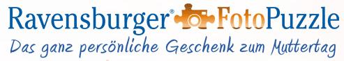 Das persönliche Geschenk von Ravensburger: FotoPuzzle