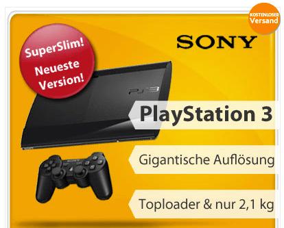 Sony Playstation 3 Angebot bei eBay